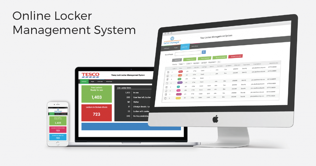 online locker management system